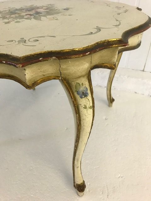 Lovely Hand Painted Coffee Table  - bv32